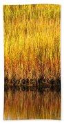 Serene Grasses Beach Towel