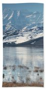 Serene Paddling Beach Towel