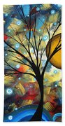 Serenity Falls By Madart Beach Towel by Megan Duncanson