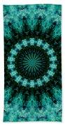Serenity Mandala Beach Towel