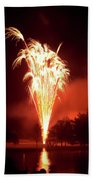 Series Of Fireworks 2 Beach Towel