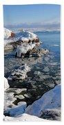 Setting Ice On Superior Beach Sheet