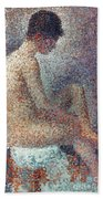 Seurat: Model, 1887 Beach Towel