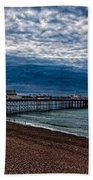 Seven Am On Brighton Seafront Beach Towel