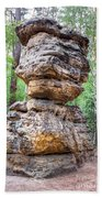 Seven Loaves - Rock Formation Beach Towel
