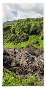 Seven Sacred Pools Ohe'o Mau Beach Towel