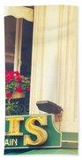 Shabby Chic Paris Saint Germain Beach Towel
