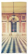 Shabby Chic Versailles Columns Of Grand Trianon Beach Towel