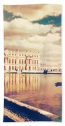Shabby Chic Versailles Palace Gardens Beach Towel