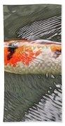 Shades Of Koi Beach Towel
