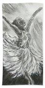 Shadow Dancer Beach Towel
