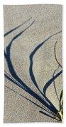 Shadow Grass Beach Towel