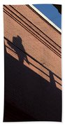 Shadow Skate Beach Towel