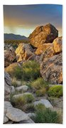 Shadow Valley Magic Hour Beach Towel by Kyle Hanson