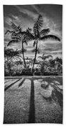 Shadow Waltz Beach Towel by Evelina Kremsdorf