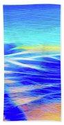 Shadows In The Surf Beach Towel