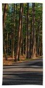 Shadows Road - Ocean County Park Beach Towel