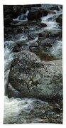Shady Stream Boulder Beach Towel