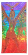 Shakti Angel Beach Towel