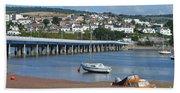 Shaldon Bridge Beach Towel