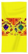 Shalimar Birds - Jinga Bird Beach Towel