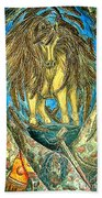 Shaman Spirit Beach Towel by Kim Jones
