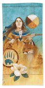 Shaman's Path Beach Towel