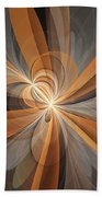 Shapes Of Fantasy Flowers Beach Towel
