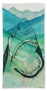 Shark Mountain  Beach Towel