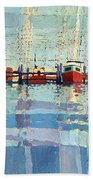 Shark River Inlet Beach Towel