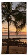 Sharks Cove Sunset 3 - Oahu Hawaii Beach Towel