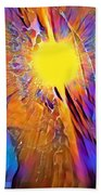 Shattering Perceptions   Beach Towel