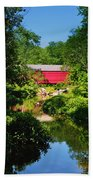 Sheards Mill Bridge - Nockamixon Pa Beach Towel