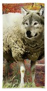 Sheep's Clothing Beach Towel