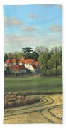 Sheering Hall Near Harlow Essex Beach Towel