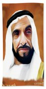 Sheikh Zayed Beach Towel