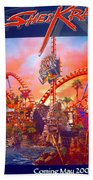 Sheikra Ride Poster 3 Beach Towel