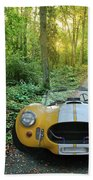 Shelby Ac Cobra In The Woods Beach Towel
