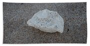 Shell And Sand Beach Towel