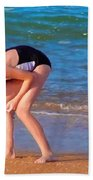 Shell Seeker Beach Towel