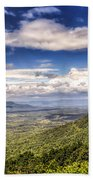 Shenandoah National Park - Sky And Clouds Beach Towel