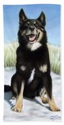 Shepherd Mix Timmy Beach Towel