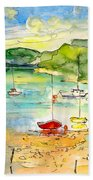 Shieldaig In Scotland 03 Beach Towel