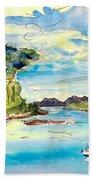 Shieldaig In Scotland 04 Beach Towel