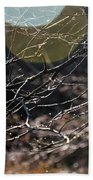 Shimmering Branches Beach Towel