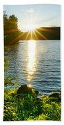 Shimmering Evening Beach Towel