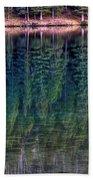 Shimmering Green Beach Towel