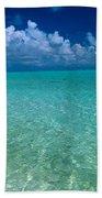 Shimmering Ocean Beach Towel
