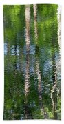 Shimmering Reflection Beach Towel
