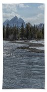 Shimmering Snake River And The Tetons Beach Towel